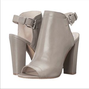 NEW! Vince Camuto Vamelia Taupe Leather Booties 8